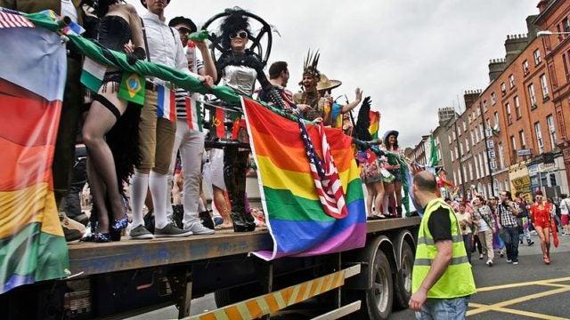 Ireland LBTQ pride parade