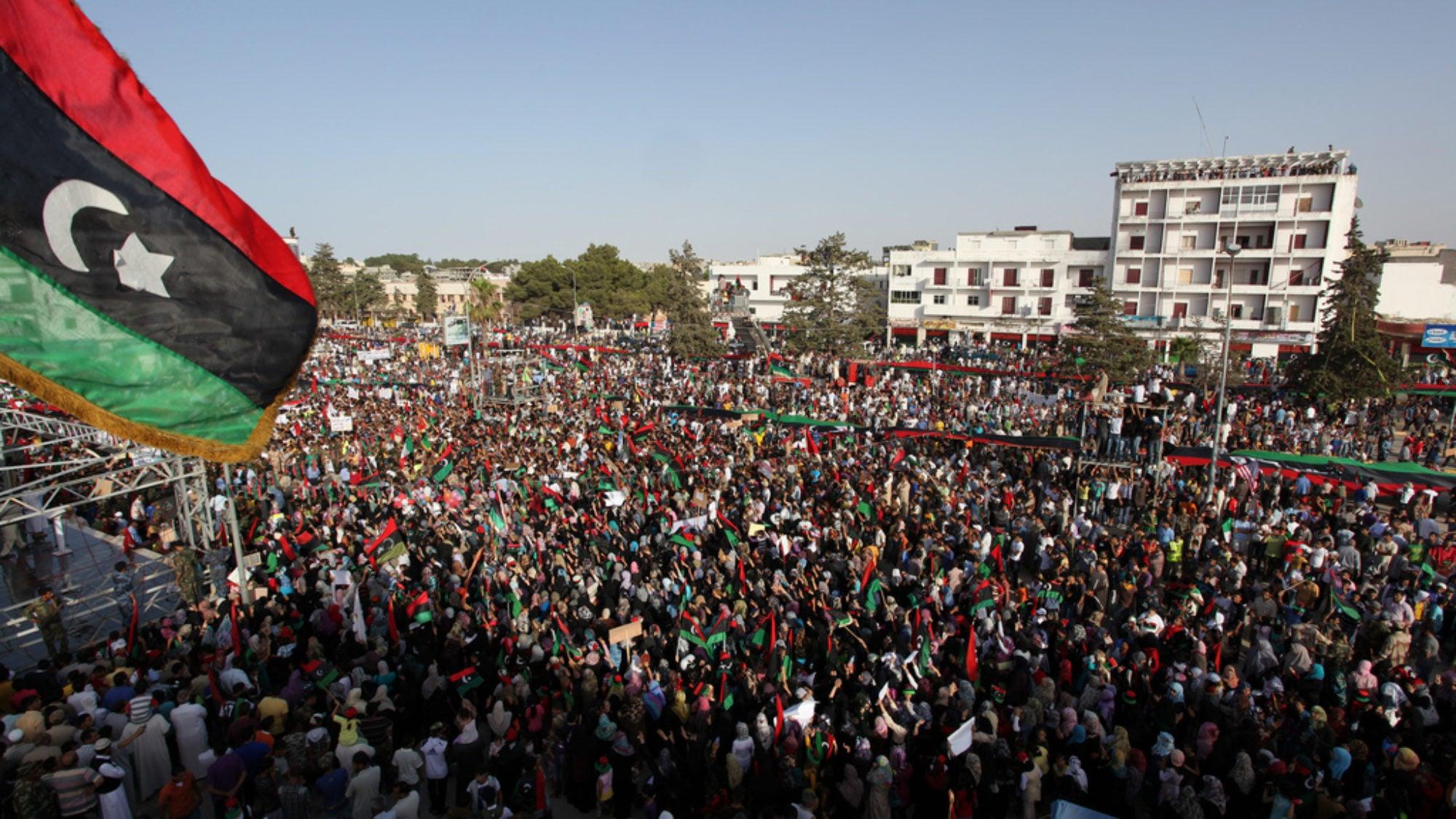 Demonstration in Libya