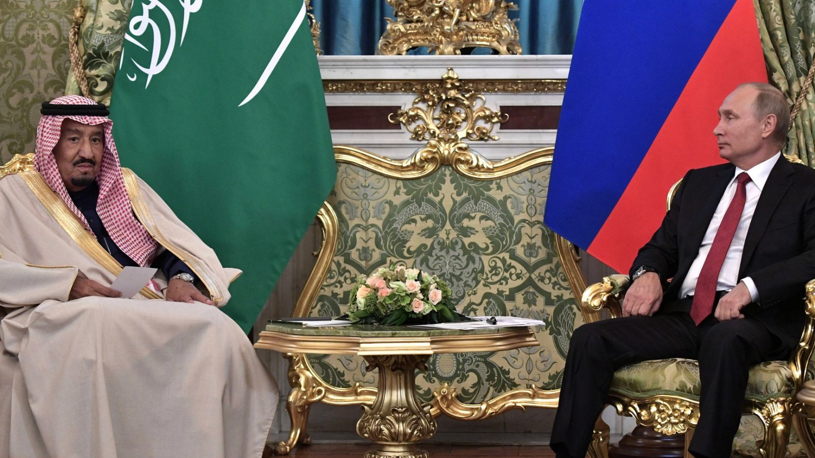 Russian and Saudi state leaders