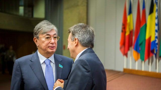 President Tokayev of Kazakhstan