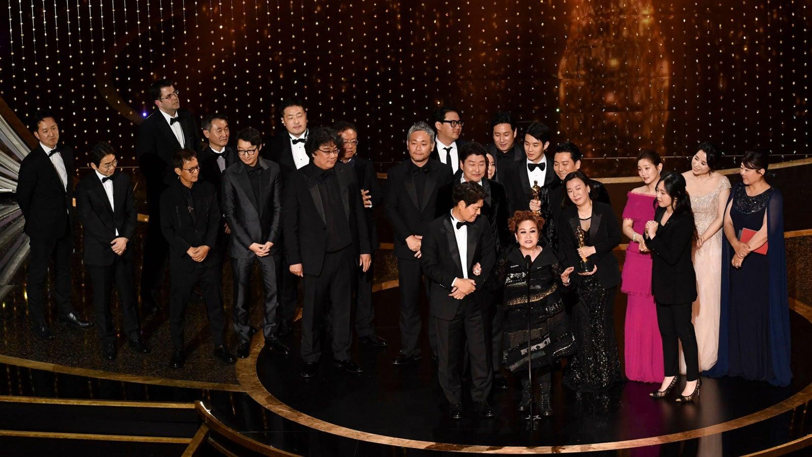 The crew behind the Korean movie