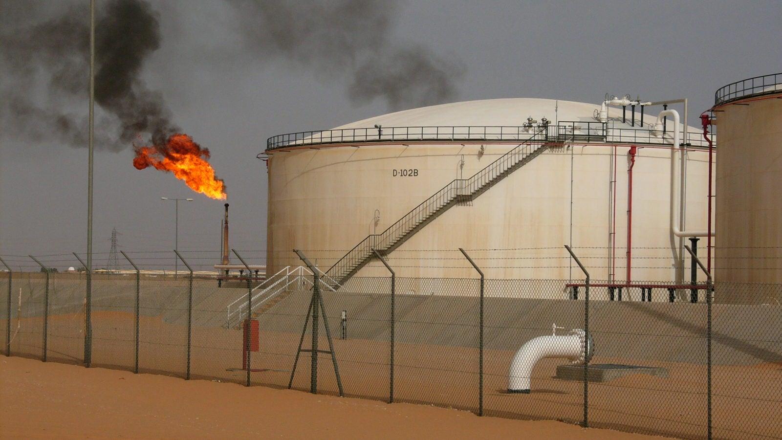 Libyan Oil Field