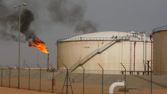Libyan Oil Field