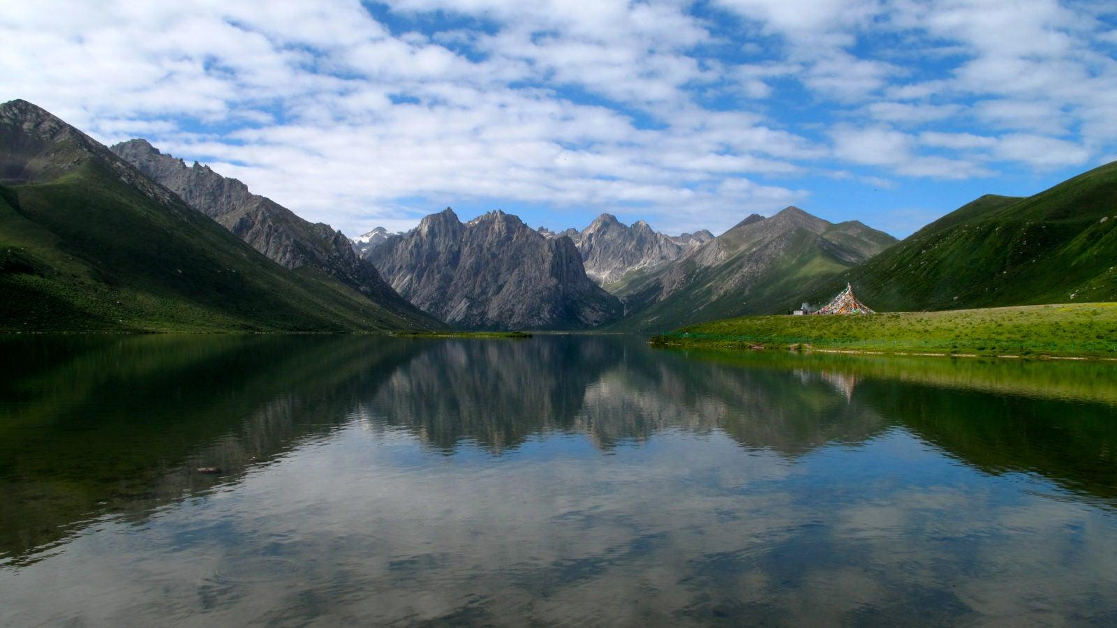 Tibetan Plateau Lake