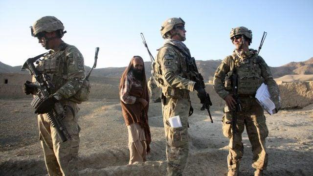 Al Qaeda fighters in Afghanistan