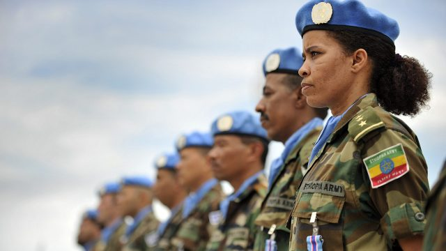 UN peacekeeping women.