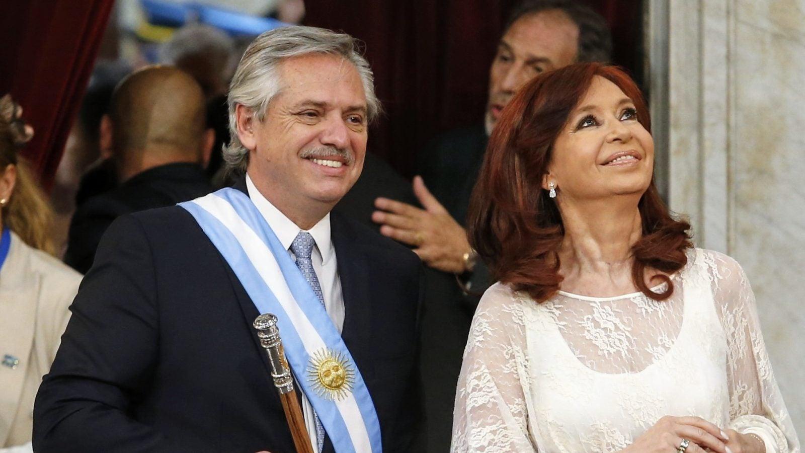 Argentine President Alberto Fernandez