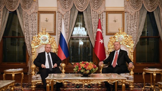Putin and Erdogan Meeting