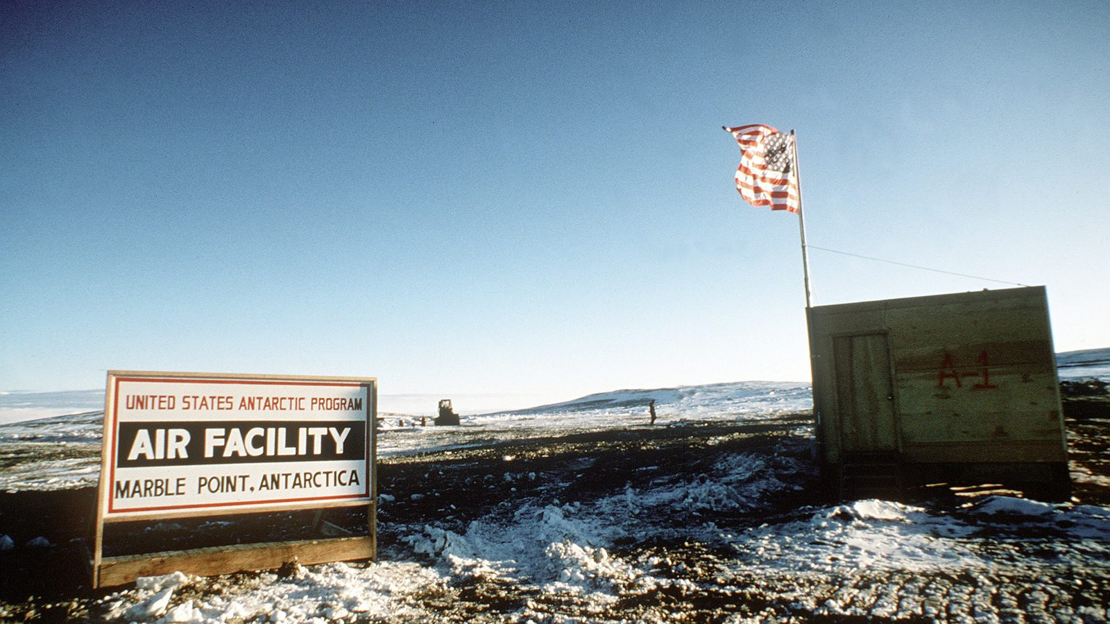 Antarctic military base