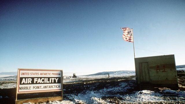 Antarctic military base