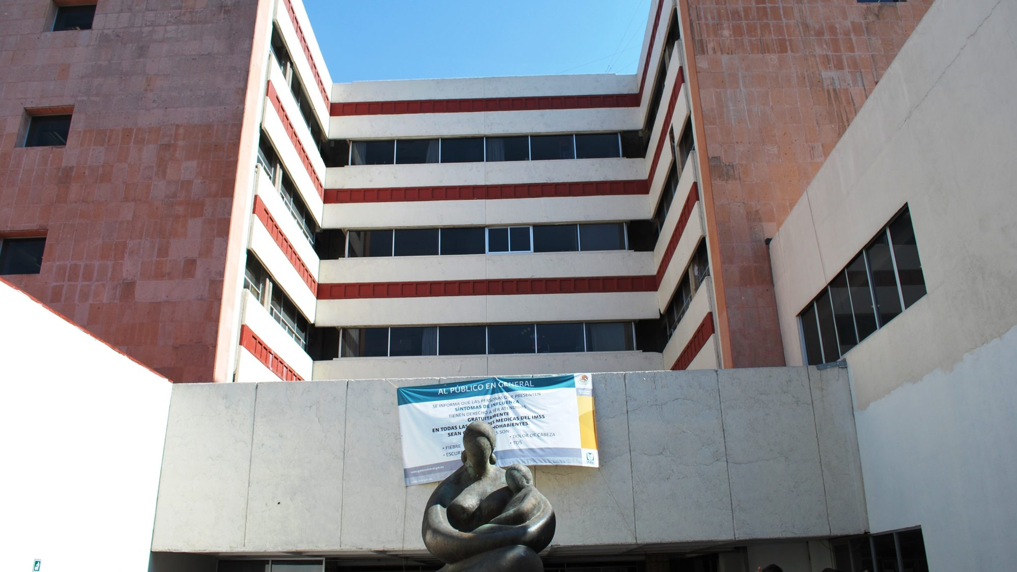 Los Venados public hospital located on Municipio Libre and Dr Vertiz streets in the Benito Juarez borough of Mexico City
