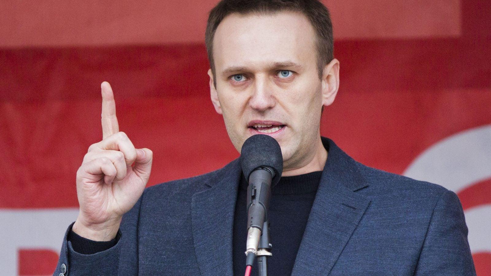 Alexei Navalny Speaking at Event
