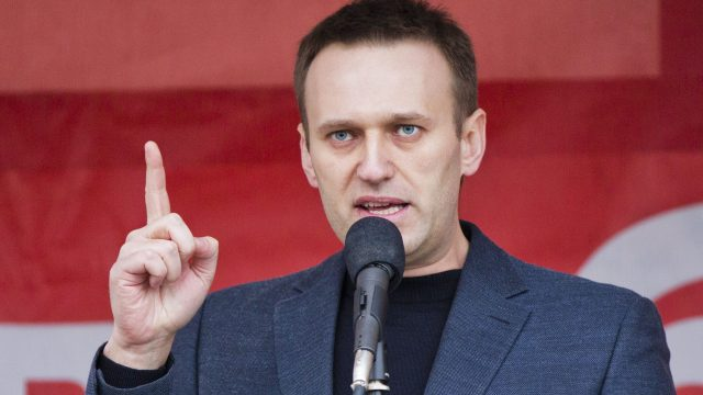 Alexei Navalny Speaking at Event