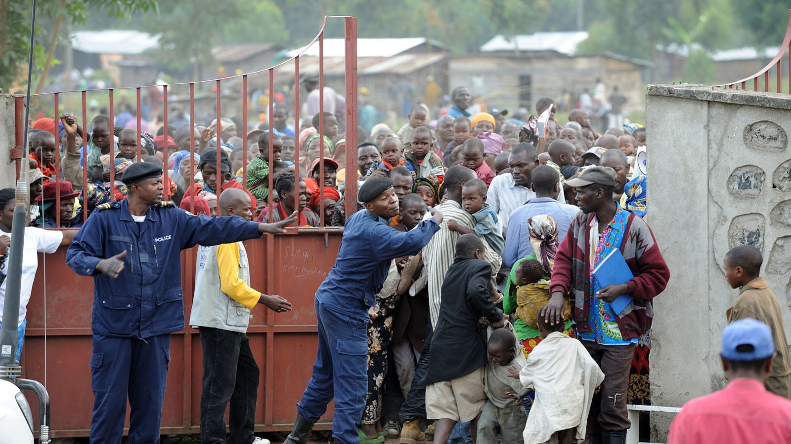 Humanitarian aid delivery in DRC