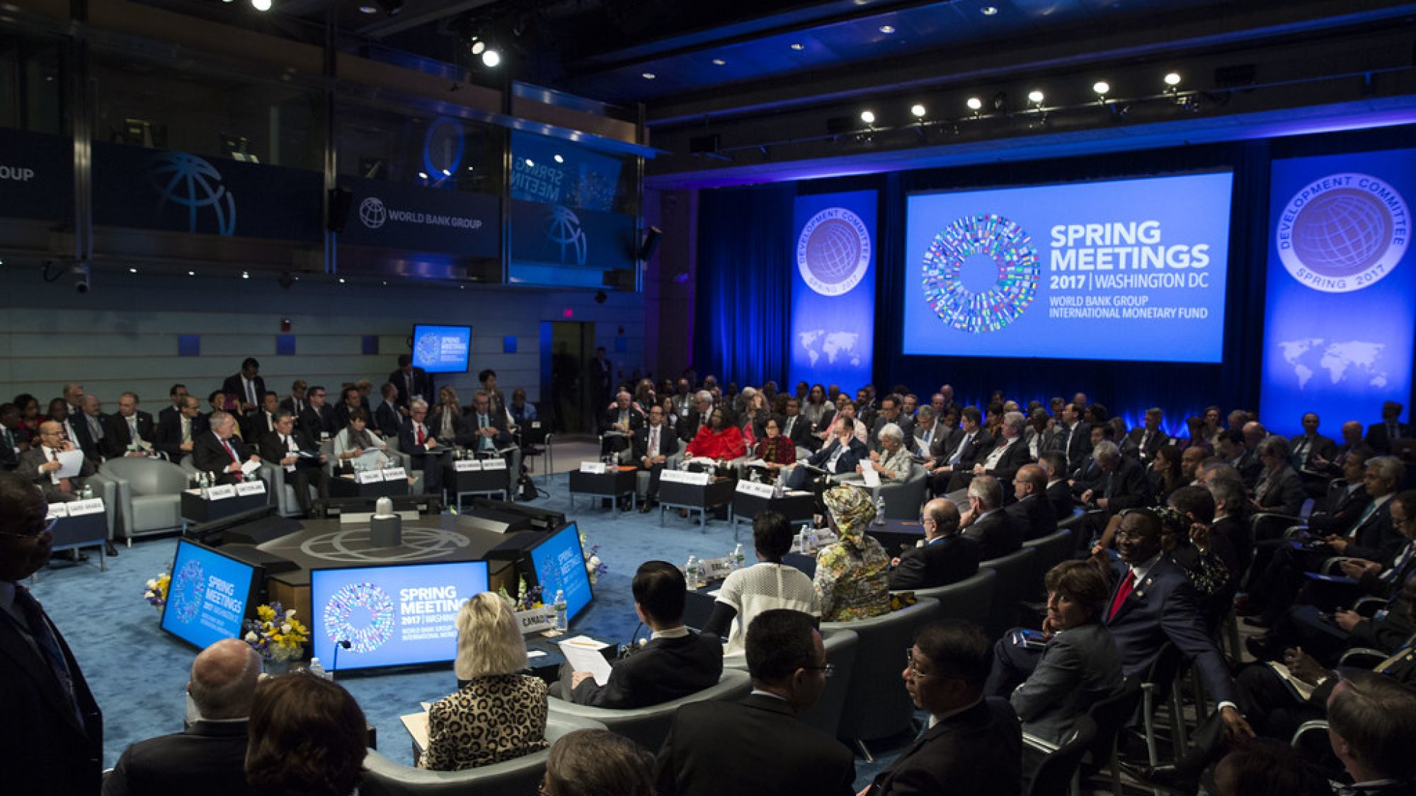 The IMF-WBG Development Committee Meets in 2017