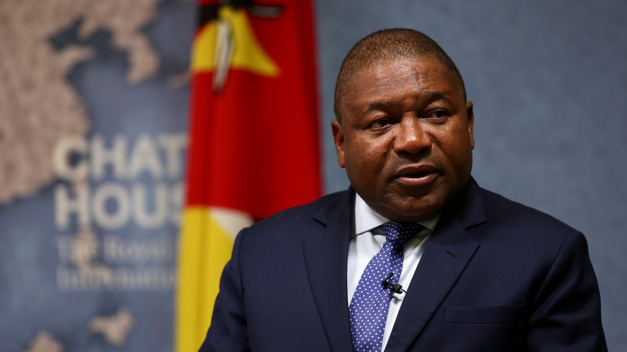Current Mozambique President Nyusi